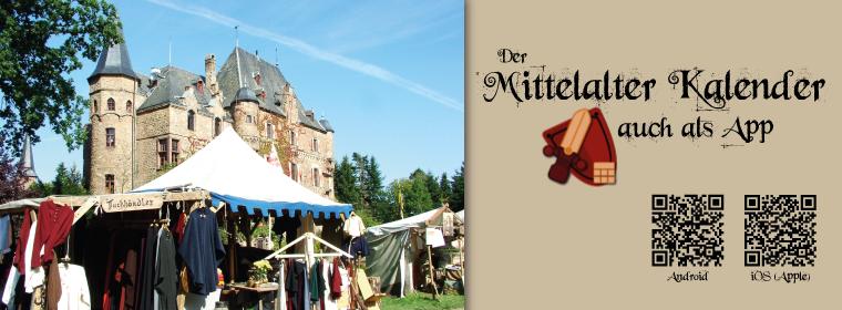 Marktkalendarium-App mit Umkreis-Suche für alle Mittelalter-Veranstaltungen