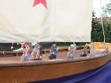 Kinderbespaßung Piratenschiff von Mittelaleterkalender.info